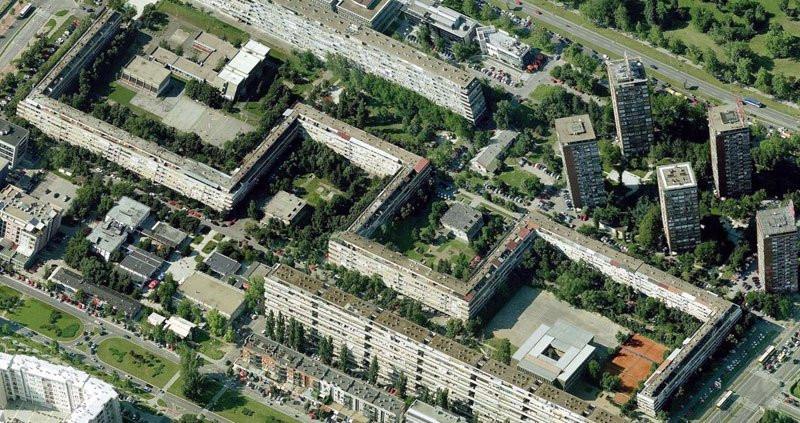 U najvećoj zgradi u Srbiji živi 3.500 ljudi: Ima 795 stanova, 62 ulaza, četiri adrese i dugačka je skoro KILOMETAR