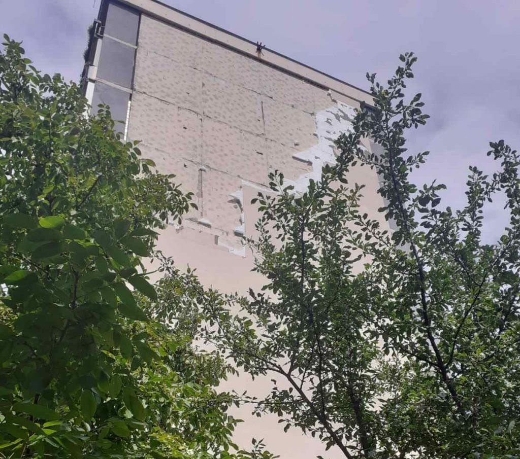 Fasada u Boriku i dalje prijeti