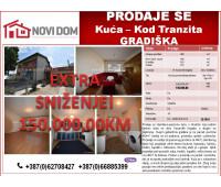 PRODAJE SE - Kuća - Ul. Kozarskih brigada - Bosanska Gradiška