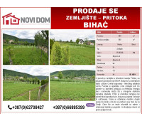 PRODAJE SE - Zemljište - Pritoka - Bihać