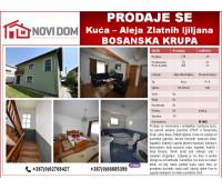 PRODAJE SE - Kuća - Aleja Zlatnih ljiljana - Bosanska Krupa