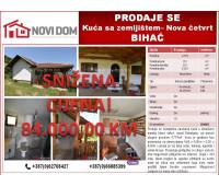 PRODAJE SE - Kuća sa zemljištem - Nova četvrt - Bihać