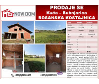PRODAJE SE - Kuća - Bubnjarica - Bosanska Kostajnica