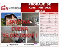 PRODAJE SE - Kuća - Pritoka - Bihać