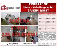 PRODAJE SE -  Kuća - Vahidbegova bb -  Sanski Most