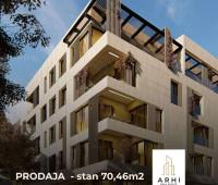 Stan od 70,46m2  u Gundulićevoj ulici