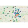 Banja Luka - mapa urađenih projekata